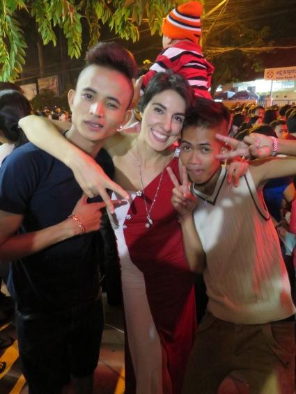 Siem Reap, Camboya, paso de 2013 a 2014