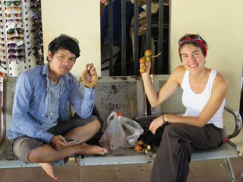 Las frutas camboyanas son más bin pequeñas y deliciosas
