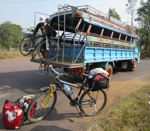 Frontera Laos - Camboya