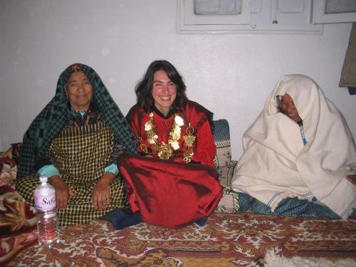 Atuendo de boda bereber, desierto del Sáhara, Túnez, 2005