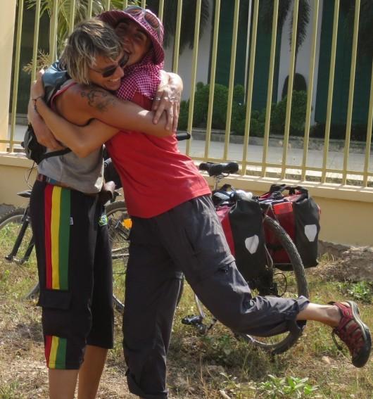 Frontera Camboya-Vietnam, febrero 2014